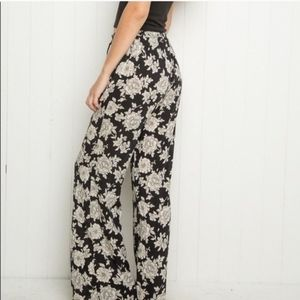 Brandy Melville Floral Pants
